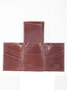 Scully Italian Leather Tri-Fold Wallet Walnut