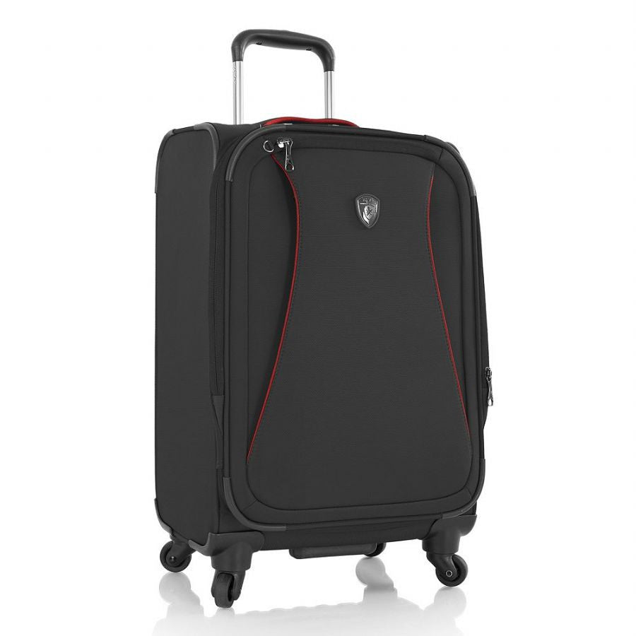 "Heys Helix 21"" Carry On Spinner Luggage Black"