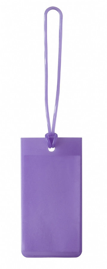 Lewis N Clark Jelly Luggage Tag Purple