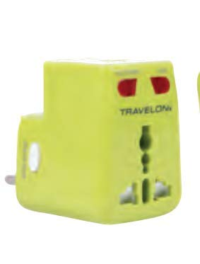 Travelon Worldwide Adapter and USB Charger
