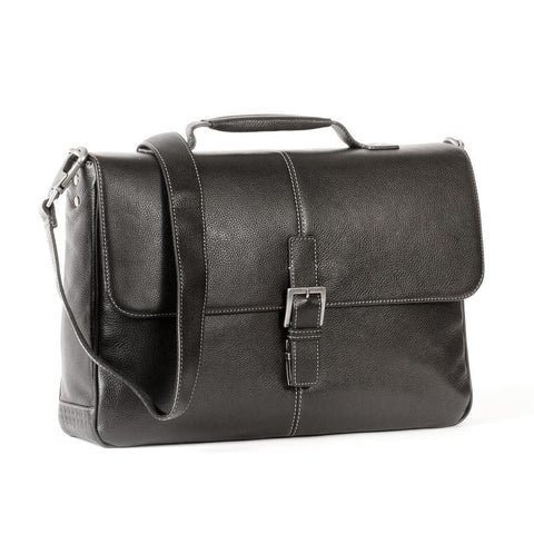 Boconi Tyler Tumbled Brokers Bag