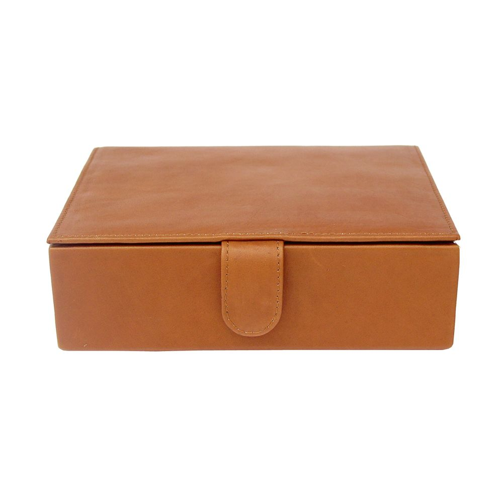 Piel Large Leather Gift Box