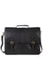 Scully Handstained Leather Satchel Brief Black