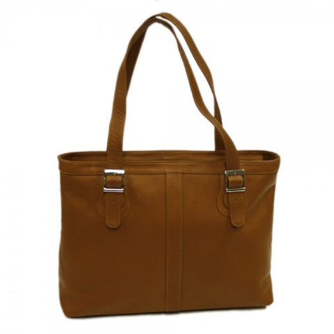 Piel Leather Ladies Laptop Tote