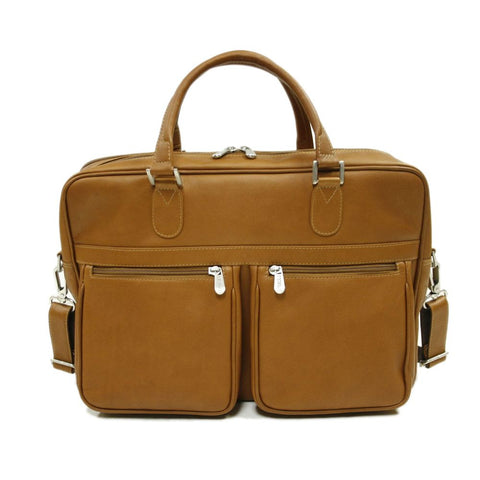 Piel Leather Checkpoint Friendly Brief/ Overnighter Bag