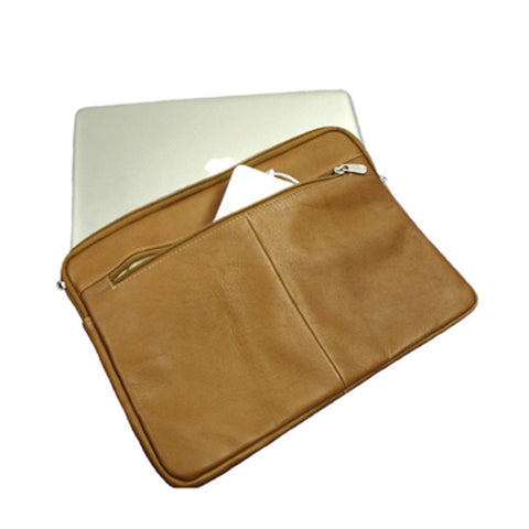 "Piel 15"" Zip Laptop Sleeve"
