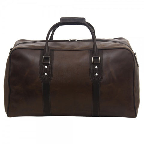 Piel Leather Classic Vintage Zip Down Duffel