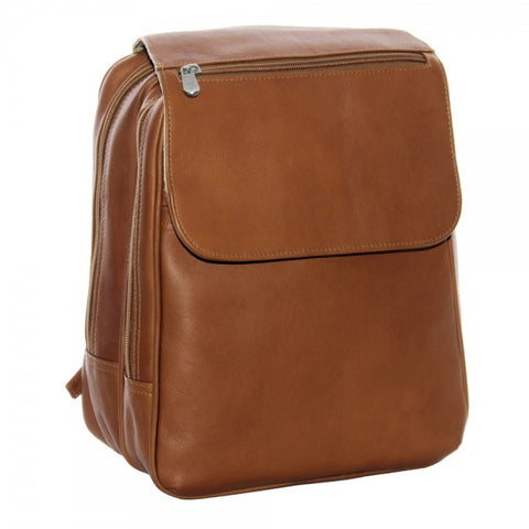 Piel Leather Flap Over Tablet Backpack
