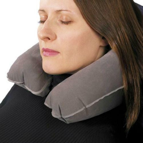 Voltage Valet Travel Neck Pillow Navy Blue