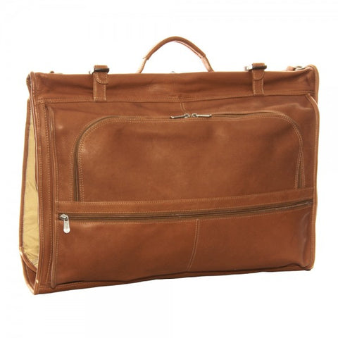 Piel Leather Trifold Garment Bag