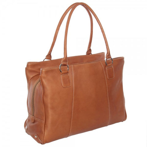 Piel Leather Laptop Travel Tote Bag