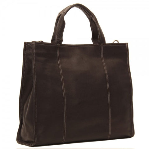 Piel Leather Carry All Tote Bag