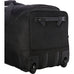 A.Saks 25 Inch Expandable Ballistic Nylon Carry On Trolley Duffel Black