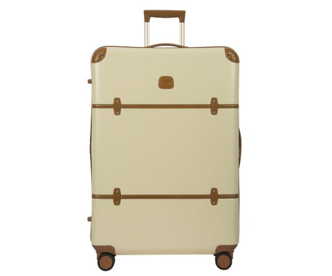 "Bric's Bellagio 2.0 32"" Extra Large Checked Spinner Suitcase Assorted Colors"