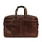 Boconi Garth Hold All Traveler Bag Brown