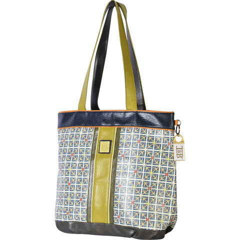 Inky & Bozko Day Tripper Travel Tote Green