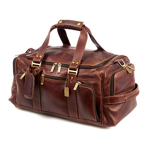 Claire Chase Legendary Ultimate Duffel Bag Dark Brown