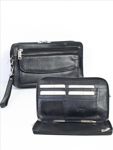 Scully Leather Personal Clutch Assorted Colors