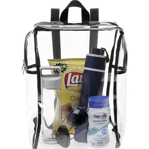 Clear Stadium Backpack by Lewis N Clark