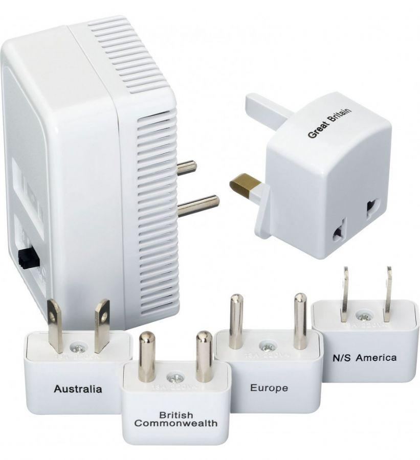 Go Travel Worldwide Adapter Kit and Converter White