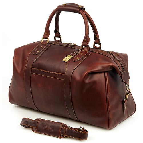 Claire Chase Legendary Normandy Duffel Dark Brown