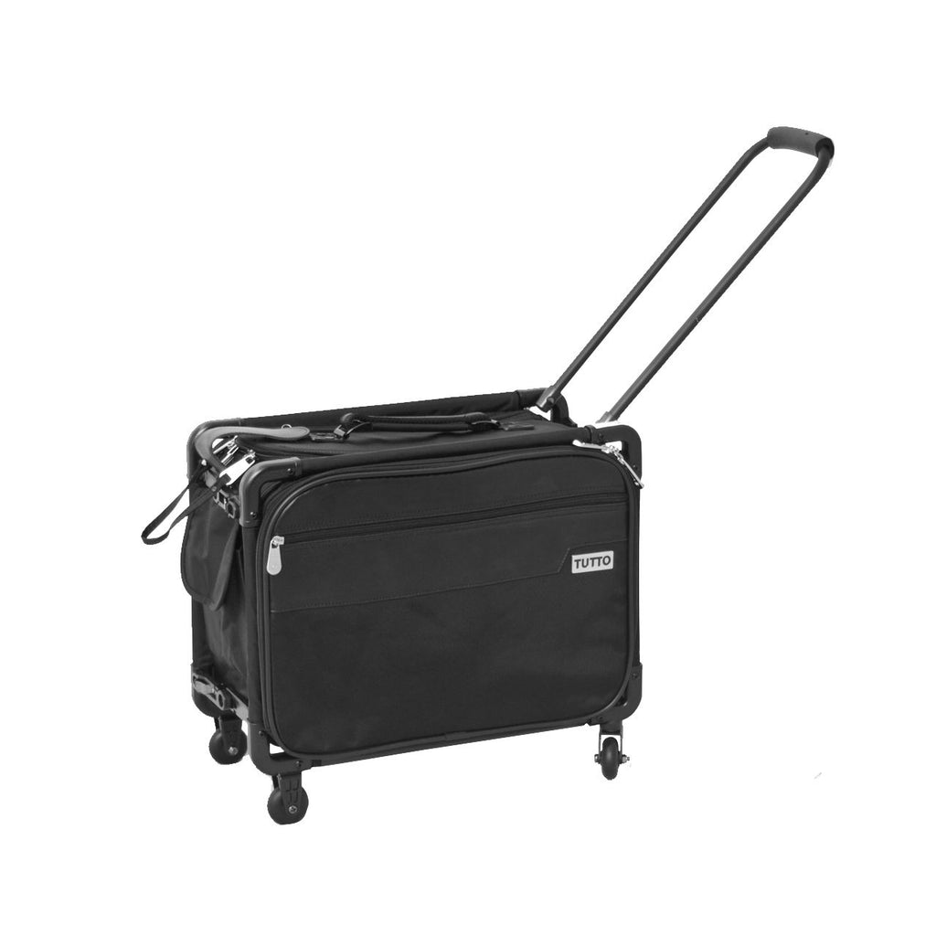 "Tutto Small Office on Wheels 17"" Black"