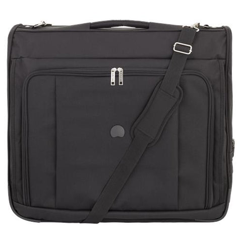 "Delsey 45"" Deluxe Garment Bag Black"