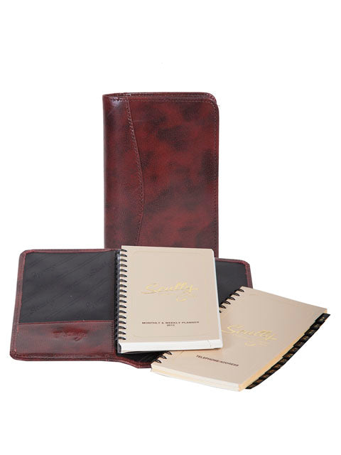 Scully Italian Leather pocket planner
