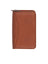 Scully Leather Soft Plonge Zip Pocket Planner Brown