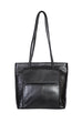 Scully Leather Handbag Black