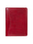 Scully Italian Leather Letter Size Pad Red