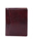 Scully Italian Leather Letter Size Pad Burgundy