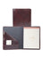 Scully Italian Leather Letter Size Pad Walnut