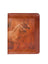 Scully Leather Letter Size Pad Printed Cover Mahogany