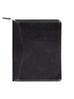 Scully Italian Leather Zip Letter Pad Black