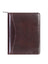 Scully Italian Leather Zip Planner Walnut