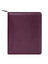 Scully Italian Leather Zip Planner Plum