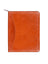 Scully Italian Leather Zip Planner Sunset