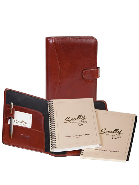 Scully Italian Leather weekly planner
