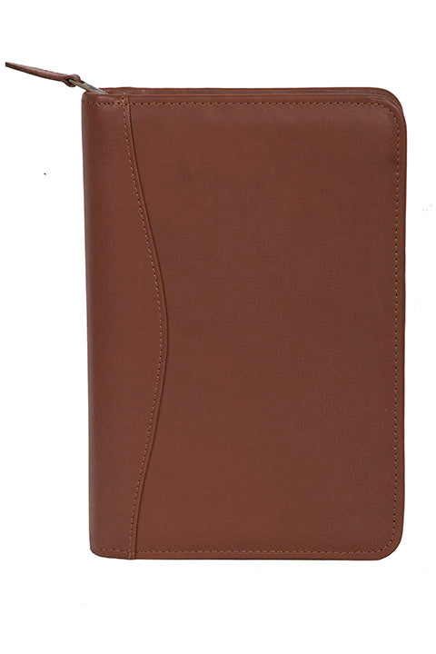 Scully Harness/Ranger Leather zip weekly planner