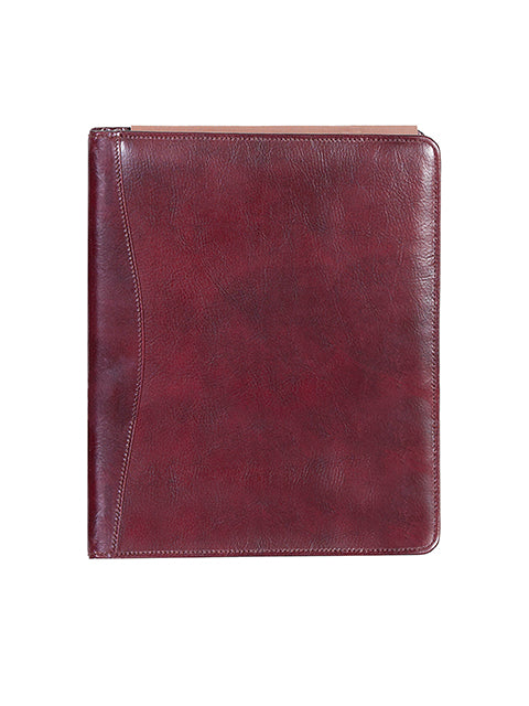 Scully Italian Leather 3 ring binder