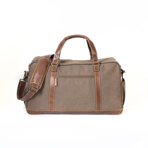 Boconi Bryant LTE Getaway Duffle in Mahogany and Heather
