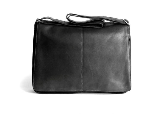 Osgoode Marley Cashmere Leather Messenger Bag