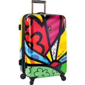 "Heys Britto 26"" Spinner Luggage New Day Multicolor"
