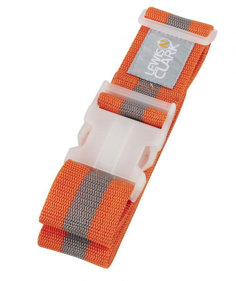 Lewis N Clark Deluxe Luggage Belt Orange