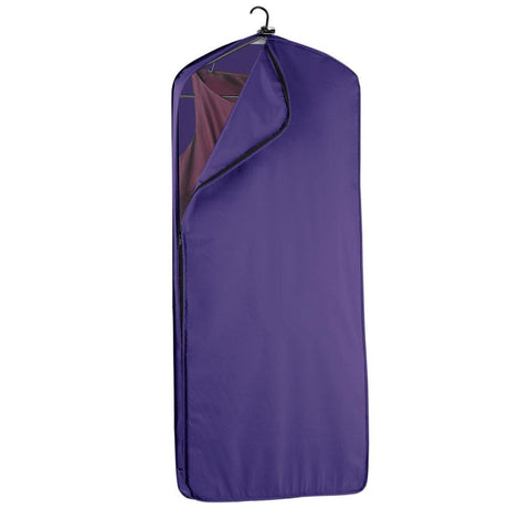 "WallyBags 52"" Dress Length Garment Cover Purple"