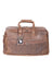 Scully Aerosquadron Collection Leather Duffel Bag Walnut Front