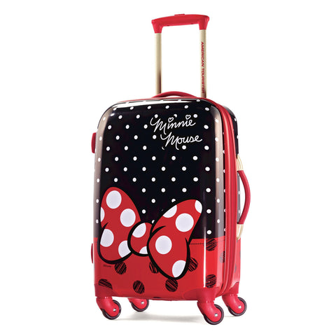 American Tourister Disney Minnie Mouse Red Bow Hard-side Spinner 21""