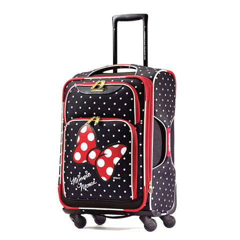"American Tourister Disney Minnie Mouse Red Bow 21"" Spinner"