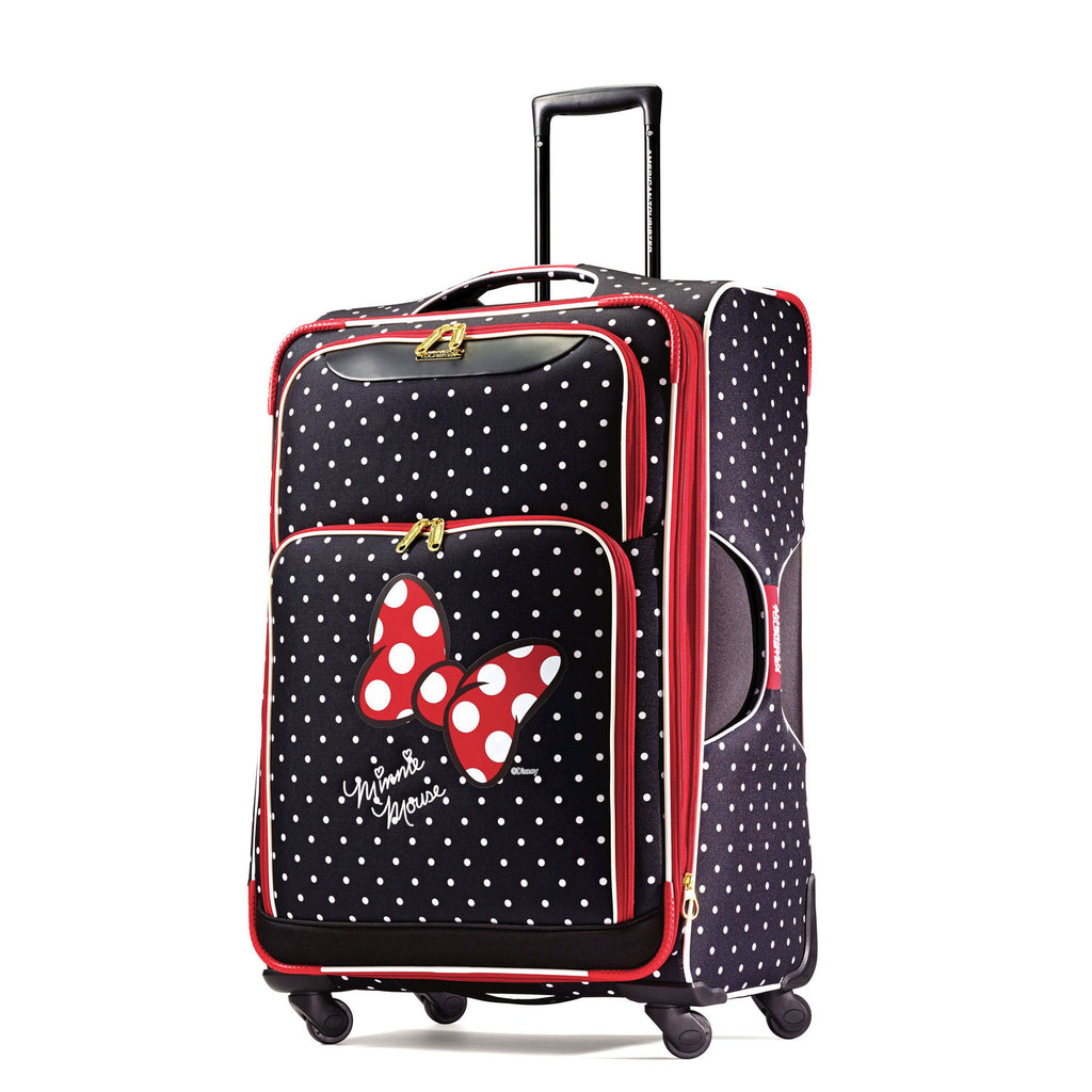"American Tourister Disney Minnie Mouse Red Bow 28"" Spinner"